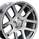 SRT Style Wheels Fits Dodge - Chrome 22x10 Set of 4
