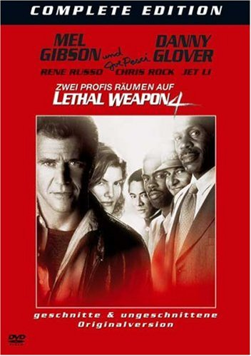 Lethal Weapon 4 (2 DVDs, geschnittene & ungeschnitte Version)