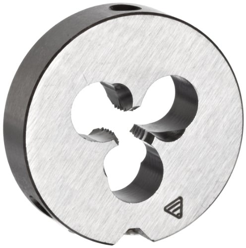 TITEX 106119 M3.5 x 0.60mm Round Adjustable Carbon Steel Threading Die, 20mm Die OD