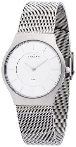 SKAGEN (スカーゲン) 腕時計 basic steel mens 233LSS ケース幅: 34mm Ultra Slim メンズ [正規輸入品]