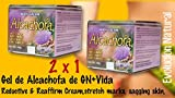 2 X 1 Gel Alcachofa Reductive & Reaffirm Cream,stretch Marks, Sagging Skin,artichoke Gel Gn + Vida Unisex