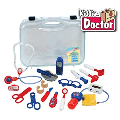 Kiddie Doctor Deluxe 19 Piece Medical Carrycase