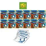 12 x 3pk Small Space Dehumidifier 36 sachets