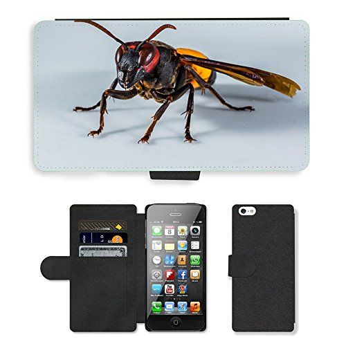 hot-style-cell-phone-card-slot-pu-leather-wallet-case-m00111487-hornet-wasp-insect-close-apple-iphon
