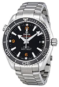 Omega Men's 232.30.42.21.01.003 Planet Ocean Black Dial Watch