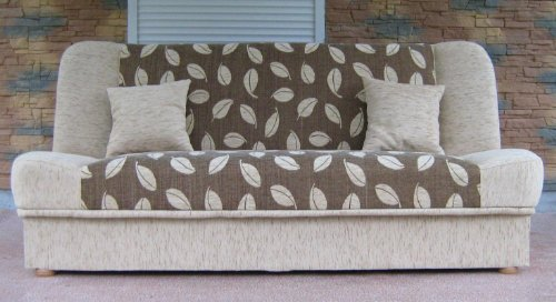 Futon - Polskie Wersalki - Sofa Bed Maddy with bedding place and 'clic-clak' mechanism. Any colors