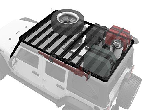 Jeep Wrangler JKU 5 Door Unlimited Roof Rack / Full Size Aluminum Off-Road Slimline II Cargo Carrier - by Front Runner (Front Runner Slimline Roof Rack compare prices)