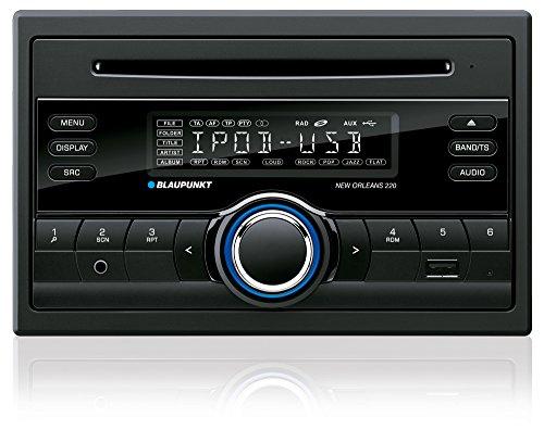 Blaupunkt NEW ORLEANS 220 sintolettore 2DIN CD/USB/MP3 e AUX IN anteriore, Nero