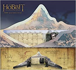 2014 The Hobbit: An Unexpected Journey Special Edition Wall Calendar