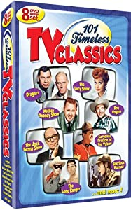 101 Timeless TV Classics - 8 DVD Set! Over 40 Hours! by Shout! Factory / Timeless Media