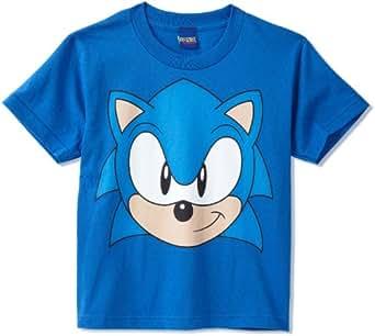 Amazon Com Sonic The Hedgehog Big Boys Sonic Face Sonic