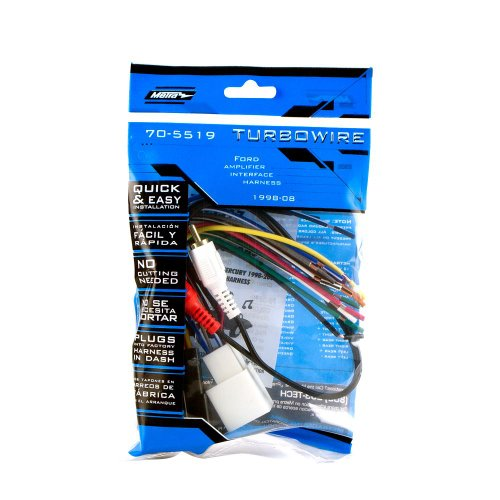 metra 70 5519 radio wiring harness for mustang 01 03 mach 1 amp int 086429086399 toolfanatic