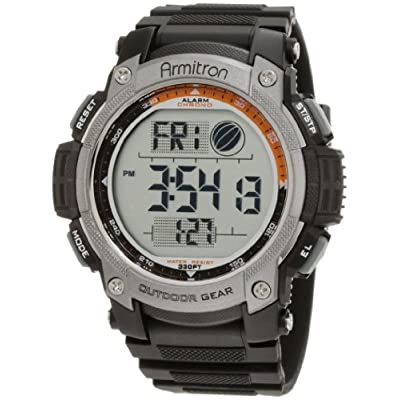 armitron sport s 40 8252blk black digital