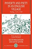 img - for By Keith Wrightson Poverty and Piety in an English Village: Terling, 1525-1700 (Clarendon Paperbacks) (Rev Sub) [Paperback] book / textbook / text book