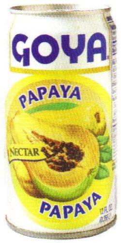 Goya Papaya Nectar 9.6 oz - Nectar De Papaya