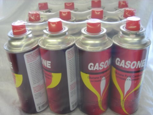GasOne Butane Fuel Canister (12 Pack) (Butane Camp Fuel compare prices)