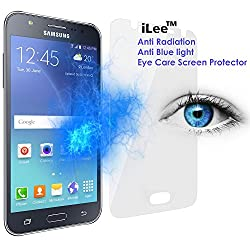 iLee Anti Radiation Eye Care Premium TEMPERED Glass Screen Protector For SAMSUNG GALAXY J7