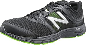 New Balance Men's M850BG1 Running Shoe,Black/Green,9 D US