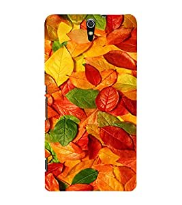 EPICCASE Autumn leaves Mobile Back Case Cover For Sony Xperia C5 Ultra Dual (Designer Case)