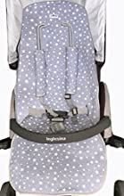 Comprar Funda Universal Acolchada para cochecito White Star Janabebe® + Protección de arneses + Maxi babero