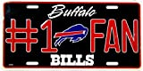 Bills #1 Fan License Plate