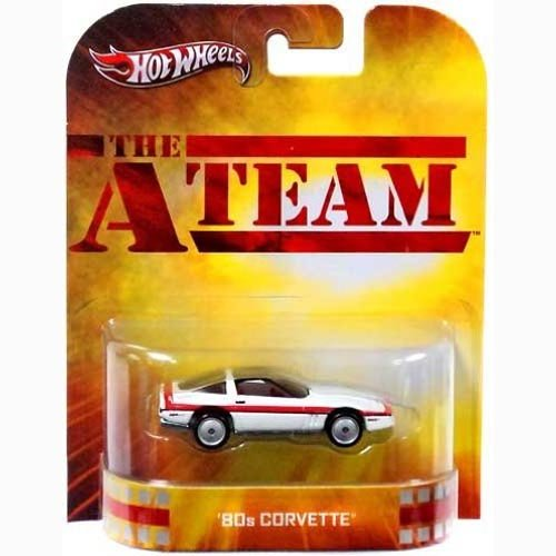 Hot Wheels The A-Team 80s Corvette Die Cast Car - 1