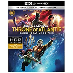 DCU Justice League: Throne of Atlantis [4K Ultra HD + Blu-ray]
