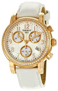 Tissot Women's TIST0502173611201 Dressport Mother-Of-Pearl Dial Watch