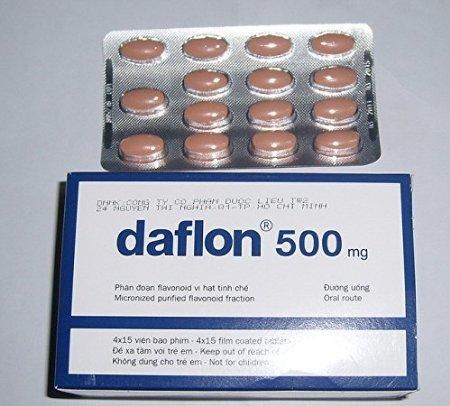 Daflon 500 : Kit Of 6 Boxes Of 180 Tablet Daflon 500Mg