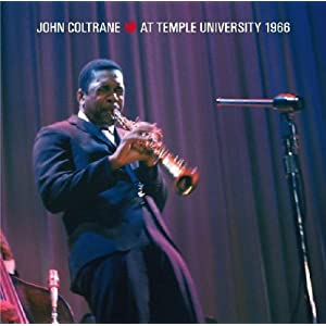 John Coltrane - At Temple University 1966 cover
