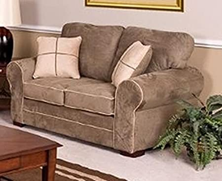 Chelsea Home Furniture Tammy Loveseat, Dynasty Chamois