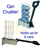 Recycling Aluninum Multi Can Crusher Smashing Beer Soda Can Compacter Recycle