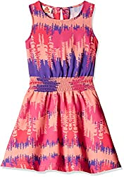 UFO Girls' Dress (AW16-WR-GKT-351_Purple_4 - 5 years)