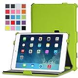 MoKo Slim-Fit Multi-angle Folio Cover Case For Apple IPad Mini 7.9 Inch Tablet GREEN (with Smart Cover Auto Wake...