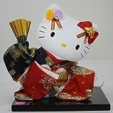 ハローキティ【限定品】 日本人形(桜花 扇)