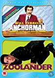 Anchorman - The Legend Of Ron Burgundy/Zoolander [DVD]