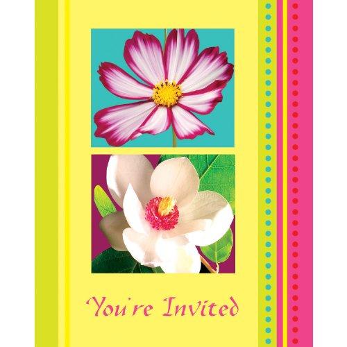 Island Flowers Invitations