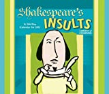 Shakespeare's Insults 2012 Calendar (0764956663) by Library of Congress