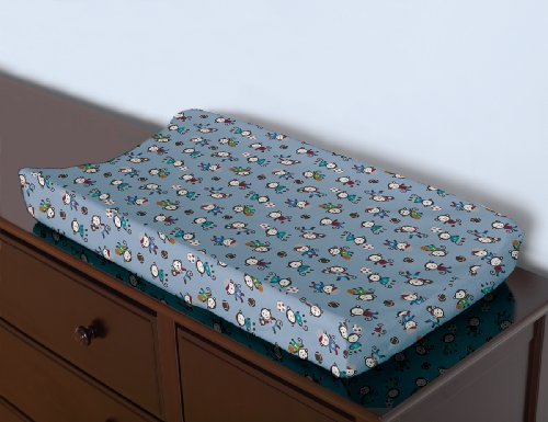 Summer Infant Changing Pad Cover, Team Monkey
