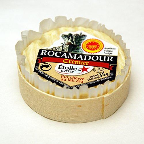 フランス産シェーブルチーズ AOP ロカマドール 木箱入り 35g