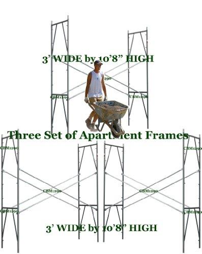 CBM 3 Set Scaffolding 3' X 10'8