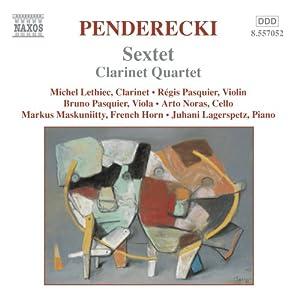Sextet/Clarinet Quartet