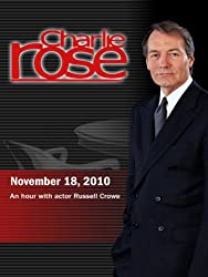 Charlie Rose - An hour with actor Russell Crowe (November 18, 2010)