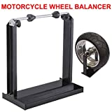 Beyondfashion 40cm x 20cm x 42cm Professional Motorcycle Wheel Tire Balancer Balancing Stand Track Truing Stand Tool