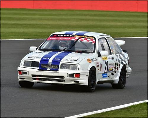 Photographic Print of CM9 6060 David Hughes, Ford Sierra Cosworth