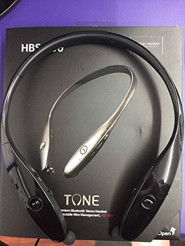 Click to buy NEW Tone Infinim HBS-900 Bluetooth Headset Headphone for LG iPhone Samsung (Black) - From only $77.99