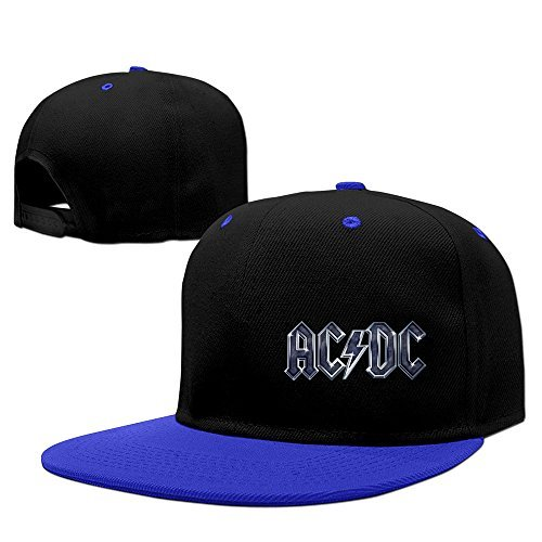 Cool AC/DC Rock Baseball Cap Royalblue