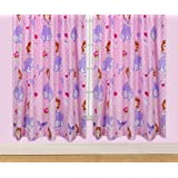 Character World 72-inch Disney Sofia The First Amulet Curtains