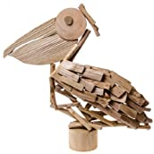 Decorative Driftwood Pelican