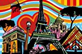 Paris lamour by Lobo - fine Art Print on PAPER : 63 x 42 Inches